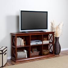 Living Room Furniture For Tv Belham Living Hampton Tv Stand Bookcase Cherry Hayneedle
