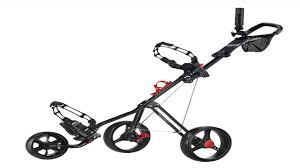 stowamatic lite trac aluminium golf pull cart youtube