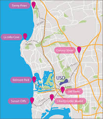 San Diego International Airport Map by Students Explore San Diego U2013 Usd Student Media