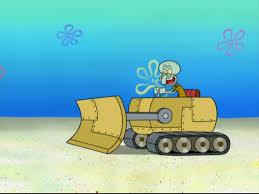 image squidward u0027s bulldozer in big sister sam png encyclopedia