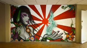 Deco Salle De Jeux Décorations Graffiti Aerozert Artiste Graffiti Décoration En Savoie