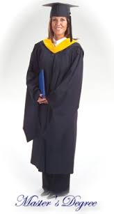master s cap and gown how to wear academic regalia