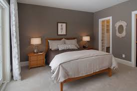 Wood Bed Frame With Shelves Dark Gray Paint Bedroom Traditional With Wood Nightstands Built In