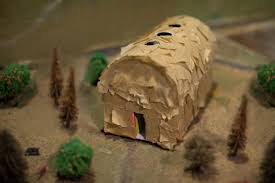 how to make a longhouse for a project sciencing