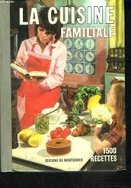 editeur livre cuisine la cuisine familiale par mariette editions de montsouris couverture