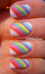 best 25 rainbow nail art designs ideas only on pinterest