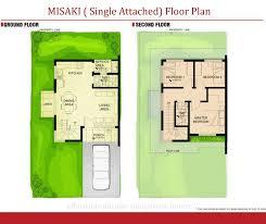 zuri residences taytayrizal misaki single attached floor plan idolza