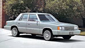 1980s dodge cars cars and tech the 10 worst chrysler vehicles of the past 25 years