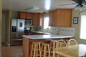 sherwin williams paint with oak cabinets two tone kitchen with sherwin williams the crafting