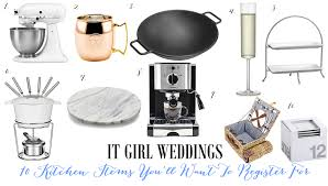 my registry wedding wedding registry ideas kitchen registry where to register