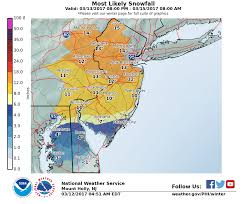 Map Of Middlesex County Nj Middlesex County Region Braces For Late Winter Storm Maybe A