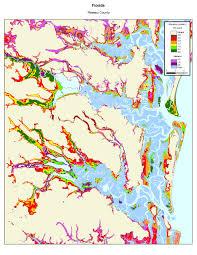 Map Of Florida East Coast More Sea Level Rise Maps Of Florida U0027s Atlantic Coast