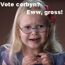Eww Gross Meme - vote corbyn eww gross imgflip