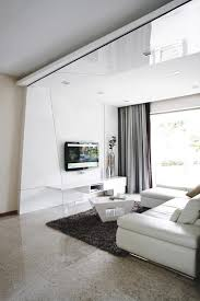 Interior Design Pics Living Room by 10 Elegantly Clean Cut Tv Console And Feature Wall Design Ideas