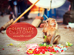 hospitality management careers customs around the world