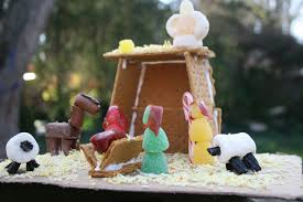 this is the cutest gingerbread nativity and it u0027s all totally
