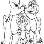 free barney coloring printable u2013 imagehadee