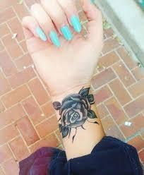beautiful rose tattoos for women