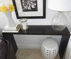 Narrow Console Table Ikea with Formidable Black Wooden Console Tables Ikea For Shelves Also Home