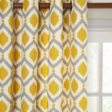 Saffron Curtains Lewis Indah Pair Lined Eyelet Curtains Saffron Living