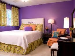 dark purple and blue bedroom white wood wall panel purple room
