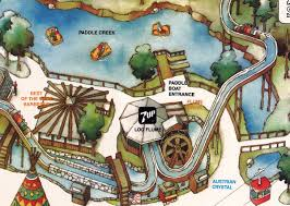 Six Flags Great Adventure Map Paddle Boats At Six Flags Great Adventure
