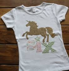 Unicorn Clothes For Girls Birthday Shirt Unicorn Birthday Shirt Birthday Shirt