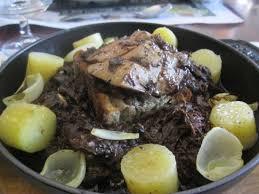 cuisiner la palombe salmis de palombe et foie gras picture of le daroles auch