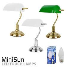Traditional Bankers Desk Lamp Traditional Vintage Bankers Touch Dimmer Table Desk Lamp Antique