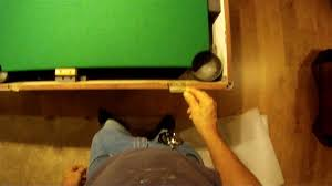 pool table felt repair how to refelt a pool table bed and rails youtube