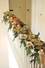 Banister Decorations 15 Wonderful Christmas Stairs Decoration Ideas Always In Trend