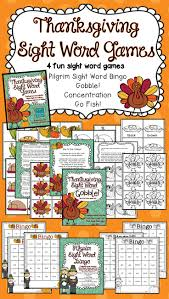 68 best thanksgiving sight word plans images on sight