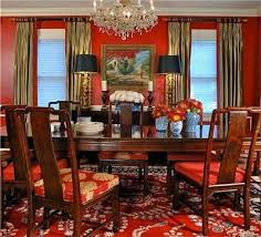 Best Brady Images On Pinterest Ralph Lauren Red Dining Rooms - Red dining room chairs