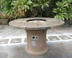 Fire Pits San Diego by Outdoor Slate Fire Pit Outdoor Dining Table Propane Firepit U2013 San