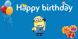 minion themed birthday banner banner template sign4x