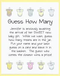 baby shower guessing baby shower guess how many candy jar by cardsbykooper