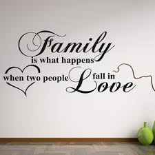 family love wall sticker quote wall chimp uk family love wall sticker quote