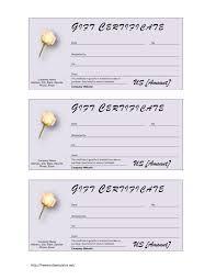gift voucher format tenant warning letter free printable flyer