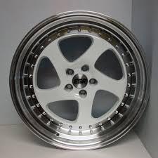lexus is300 vs honda civic si esr sr02 wheels 18x8 5 9 5 white fit acura tl rsx tsx ilx honda