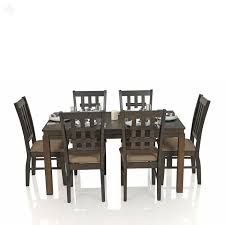 solid oak dining table and 6 chairs joseph s wood galleria