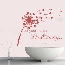 let your cares drift away dandelion hearts quotes wall stickers let your cares drift away dandelion hearts quotes wall stickers home art decals