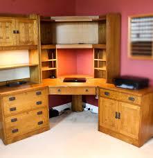 Corner Filing Cabinet Stickley Mission Collection Corner Desk With Filing Cabinet Ebth