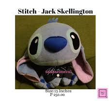 Jack Skellington Costume Stitch In Jack Skellington Costume Nightmare Before Christmas
