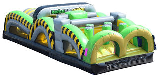 party rentals michigan 31 toxic obstacle course kids party rentals