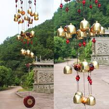 jardin feng shui shui picture more detailed picture about 18 bells copper wind