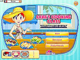 jeux de l ecole de cuisine de bâtonnets de glace école de cuisine de un des jeux en