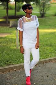 all white casual casual sheer shoulders unregisteredstyle