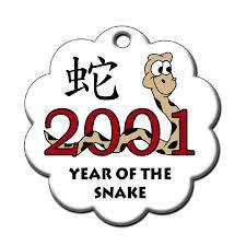 zodiac year of the snake ornament 2001 mandys moon