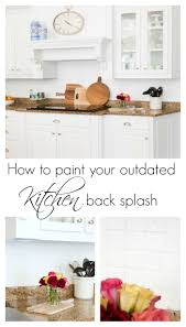 back splash how to paint over your outdated back splash duke manor farm