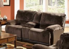 Catnapper Reclining Sofas by Microfiber Reclining Sofa With Console Tehranmix Decoration